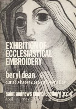 Catalogue of Exhibition of Ecclesiastical Embroidery, 1974